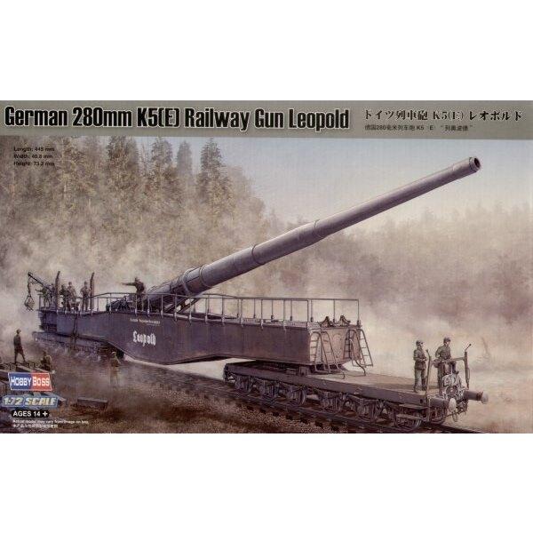 280mm K5(E) Leopold Railway Gun