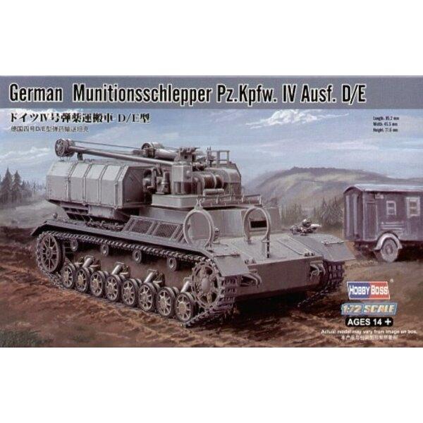 Muntionsschlepper Pz.Kpfw.IV Ausf.D/E
