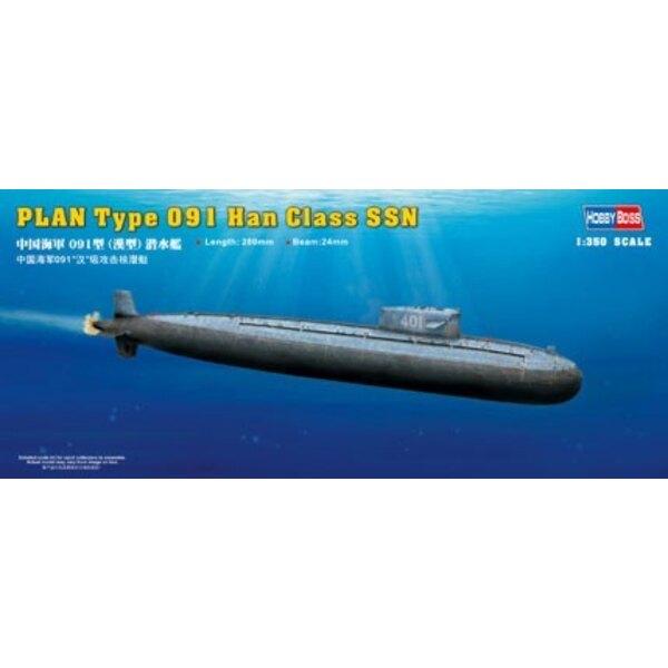 PLAN Type 091 Han Class SSN