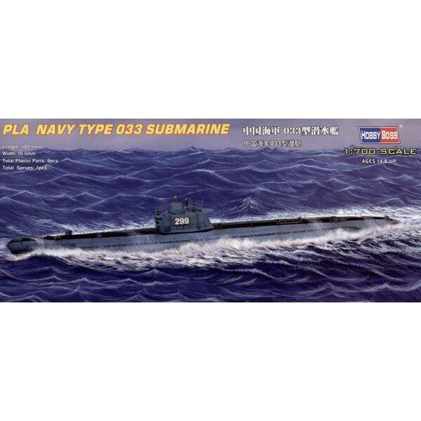 Chinese Naval Type 33 Submarine (submarines)