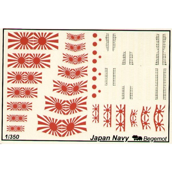 Japan Navy Navy Flags and Markings.