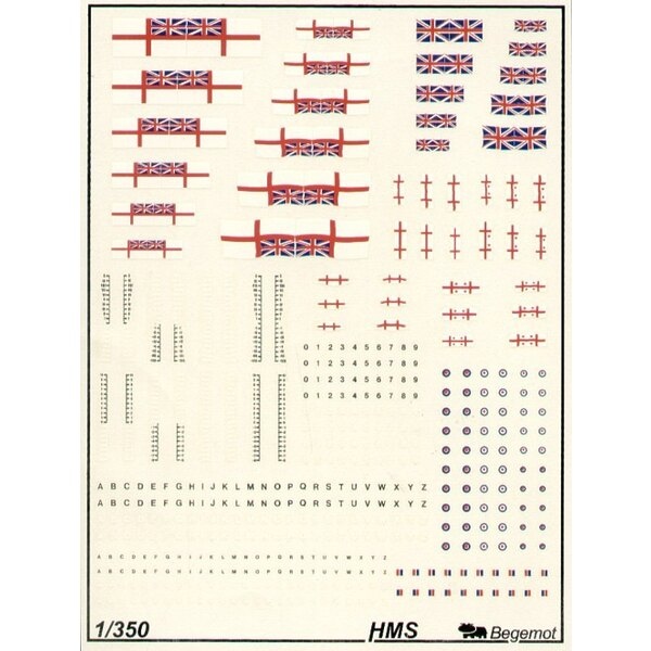 Royal Navy/RN flags and markings