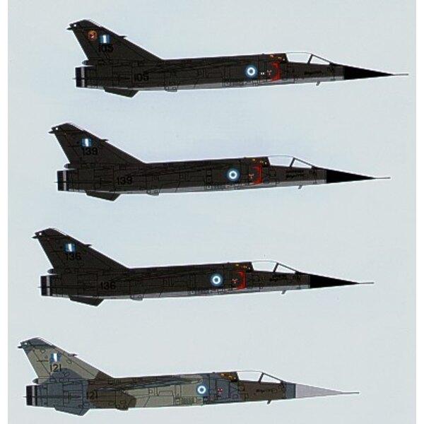Decals Hellenic Air Force Dassault Mirage F.1CG