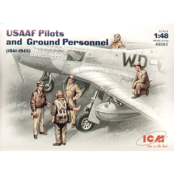 USAAF Pilots/Ground crew figures 1941/45
