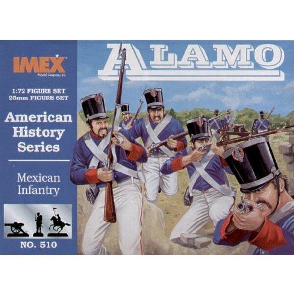 Mexican Infantry figures
