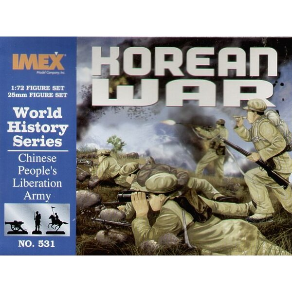 Korean War Chinese Troops