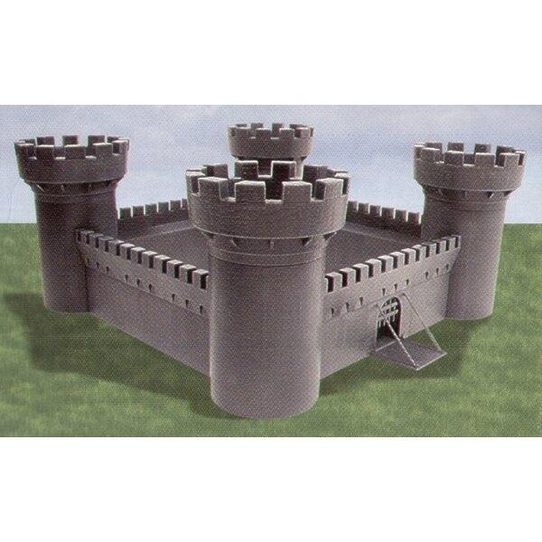 Ivanhoe Castle - round towers