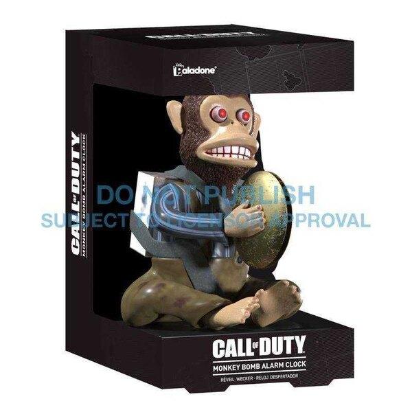 Call of Duty Alarm Clock Monkey Bomb