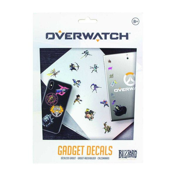 Overwatch set 49 vinyl stickers Iconic Characters