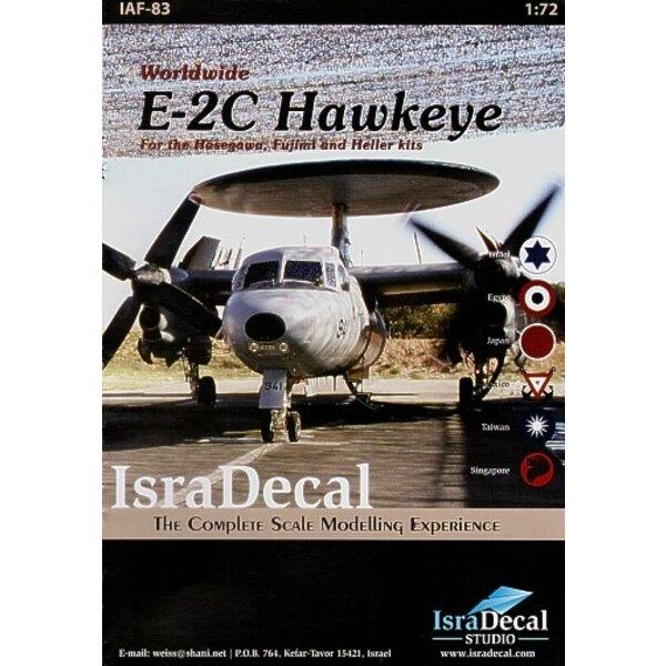 Grumman E-2C Hawkeye in Worldwide Service (6) Israeli AF Nos 941/2/4/6 1 Egypt AF Nos 1-5 Japan Air Self-Defence Force No 452 or