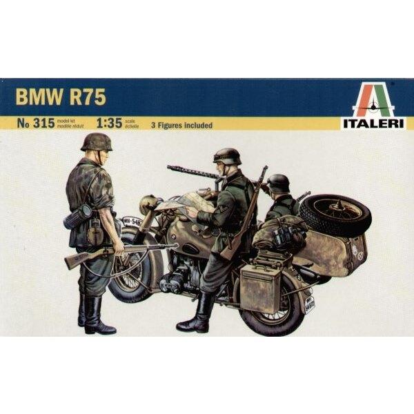 BMW R75 with Sidecar