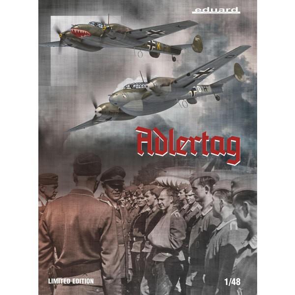 MESSERSCHMITT Bf110 C/D ADLERTAG, limited edition 1:48