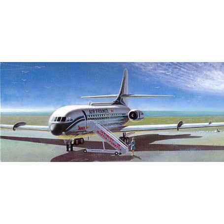 Sud Aviation SE-210 Caravelle III or VIR. decals for United Flygvapen Sweden Air Inter France Air France and a French Military a
