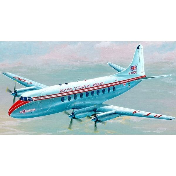 Vickers Viscount 700. Decals Capitol Airlines and BEA