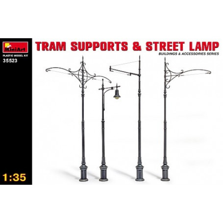 Tram Supports & Street Lamps