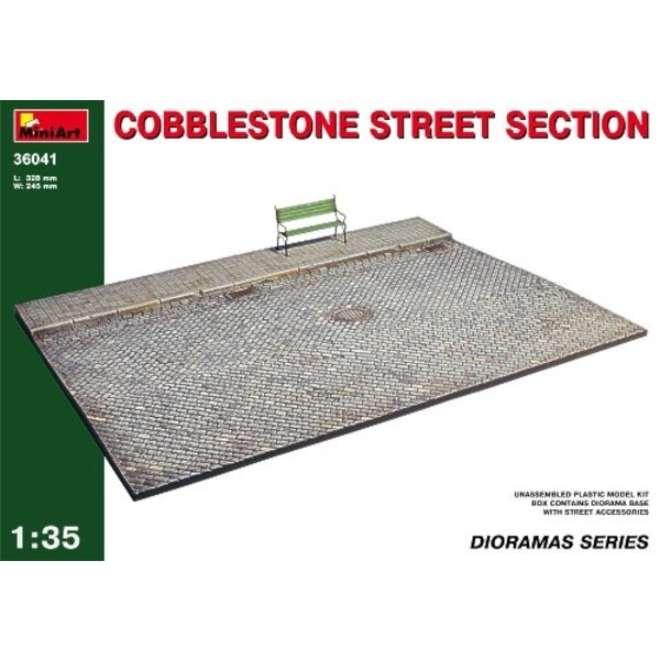 Cobblestone Street Section
