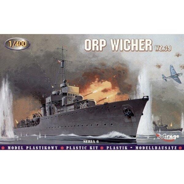 ORP Wicher wz.39 Destroyer