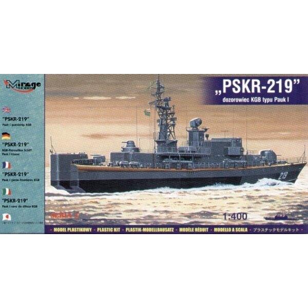 PSKR-219 Pauk I KGB Guardship