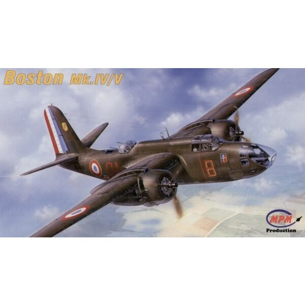 Boston Mk.IV/V. This is a bomber version of the ground attack Havoc that featured glazed nose for bombardier. US Army designated