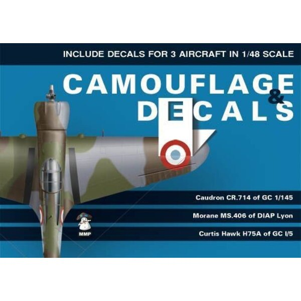 Camouflage and Decals Volume 1. This volume covers three fighter aircraft flown by Polish pilots in France in 1939 and 1940: Cau