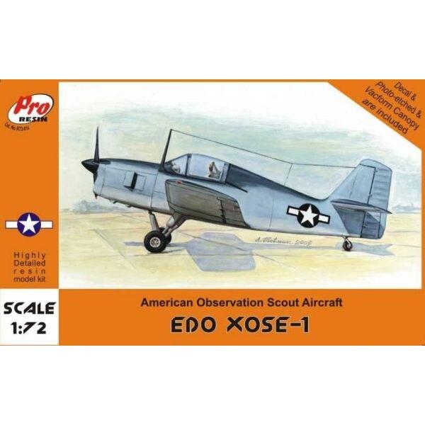 Edo XOSE-1 single seat with wheels