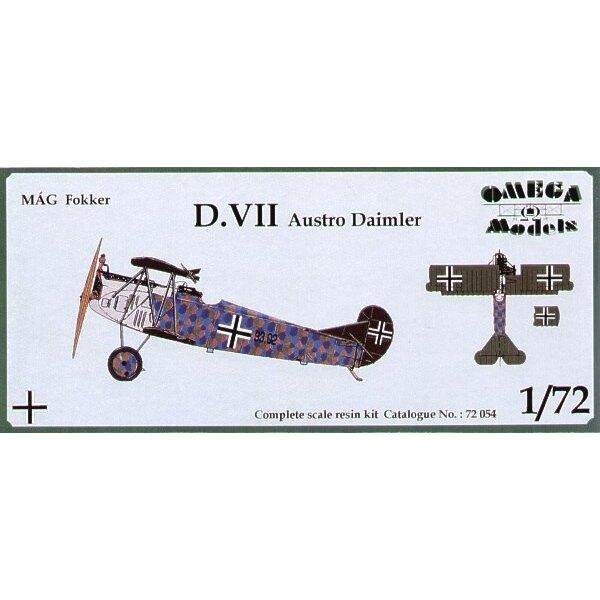 Fokker D.VII with Austro-Daimler engine