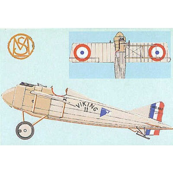 Morane Saulnier (designed to be assembled with model kits from Academy)