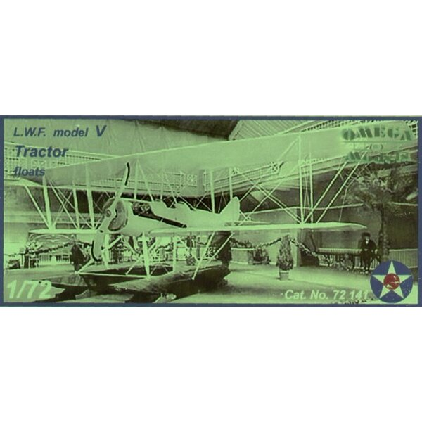 LFW model V Tractor float plane with US decals.