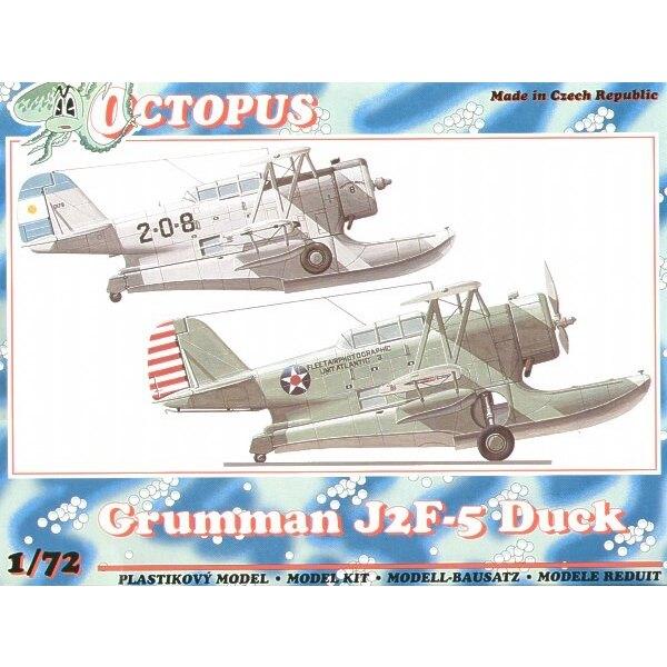 Grumman J2F-5 Duck. DecalsUS and Argentina