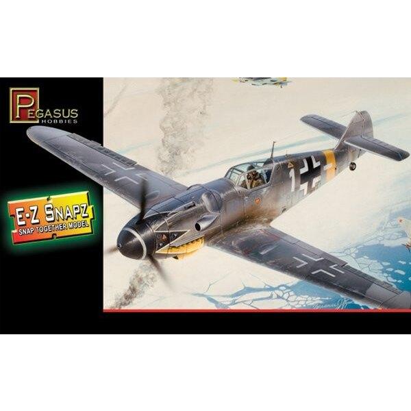 Messerschmitt Bf 109G-6 (Snap together)
