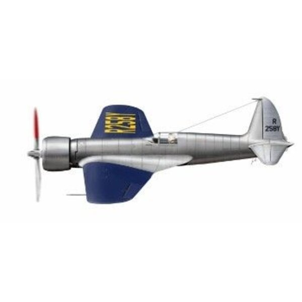 Hughes H-1 Racer Long wing version. Full-resin kit of racing and record breaking aircraft of H.Hughes. He broke the Transamerica