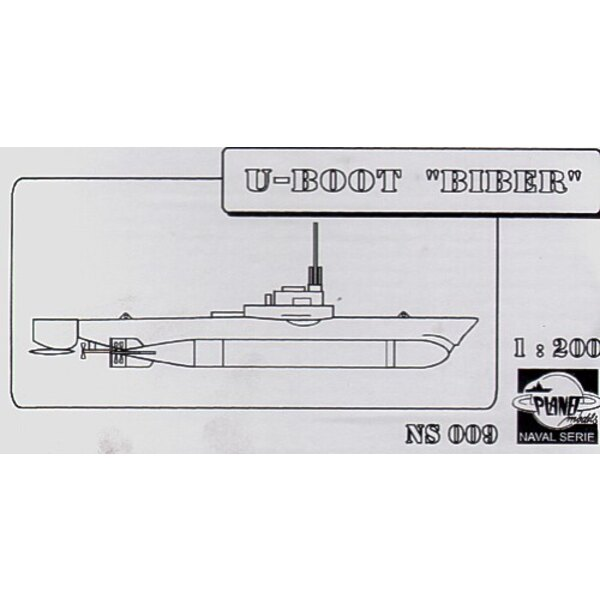 Biber U-Boat (Submarines). This is resin. (submarines)
