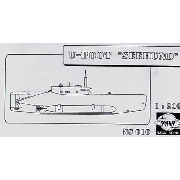 Seehund U-Boat (Submarines). This is resin. (submarines)