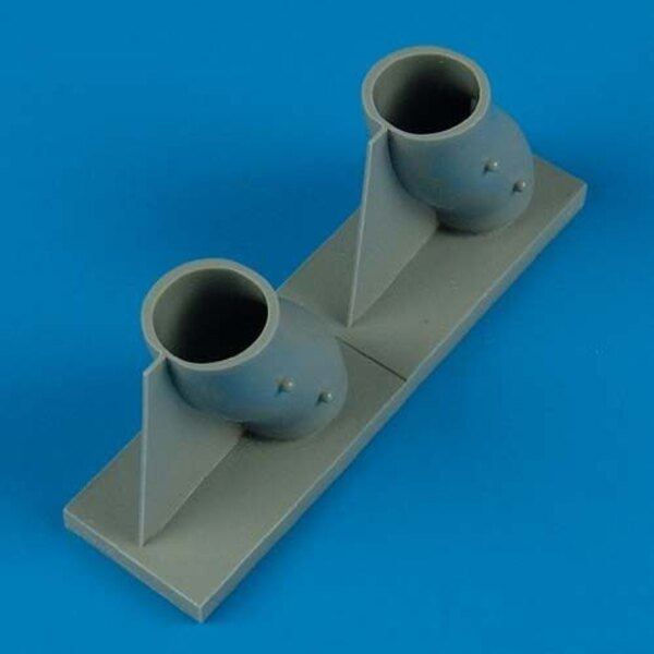 Grumman E-2C Hawkeye air intake (designed to be assembled with model kits from Italeri and Kinetic)