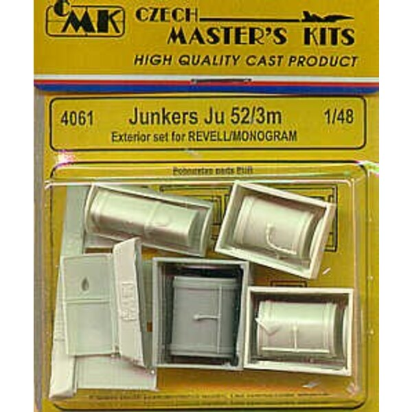 Junkers Ju 52/3M exterior (designed to be assembled with model kits from Monogram and Revell)