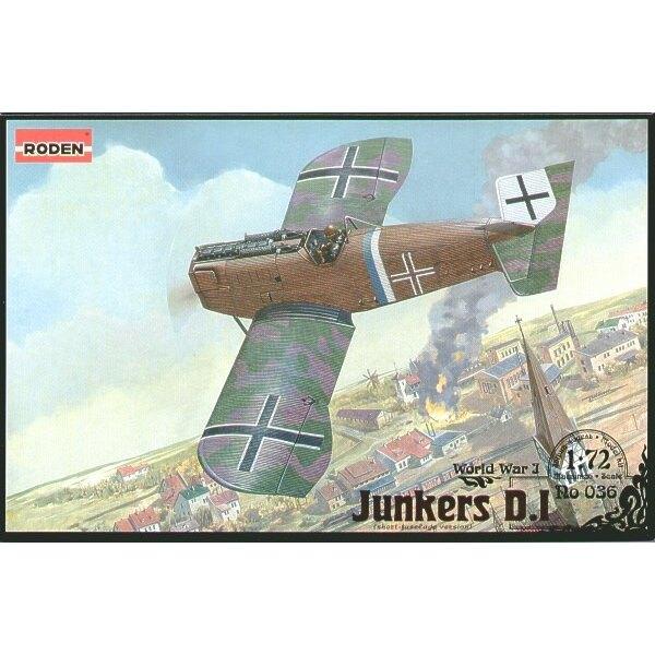 Junkers D.I short fuselage version