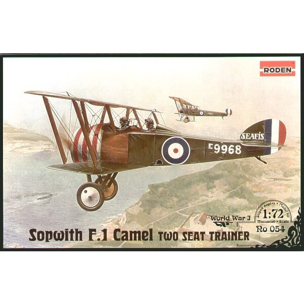 Sopwith F.1 Camel two seat trainer