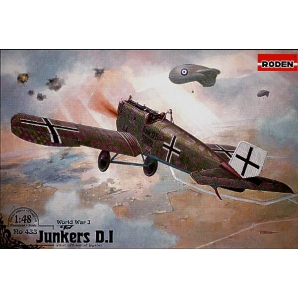 Junkers D.I early version