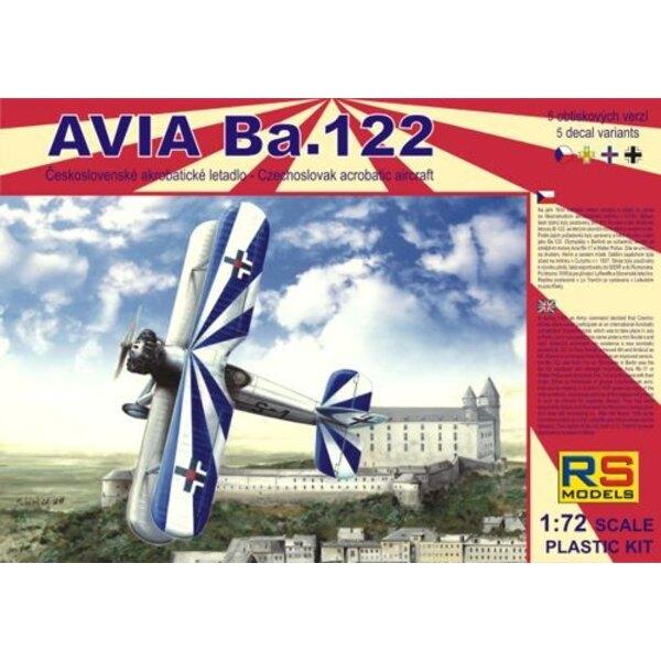 Avia Ba.122 with Avia Rk17 engine. Decals Czech Luftwaffe Slovakia and Romania