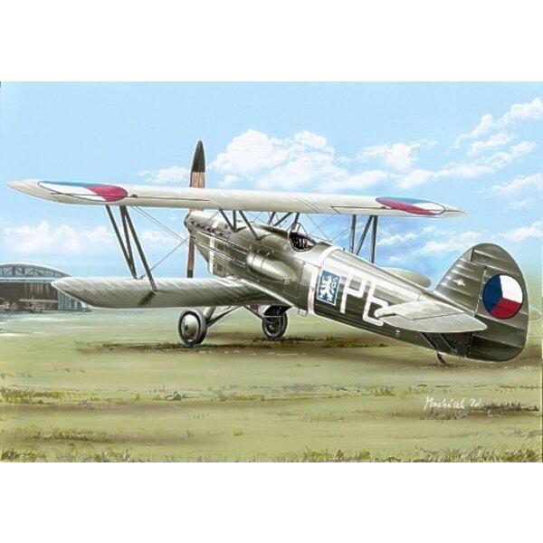 Avia B-534/II.version. Decals Czechoslovakia. Luftwaffe and Slovakia