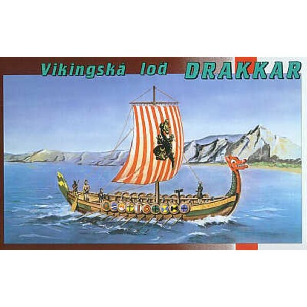 Drakkar Viking ship