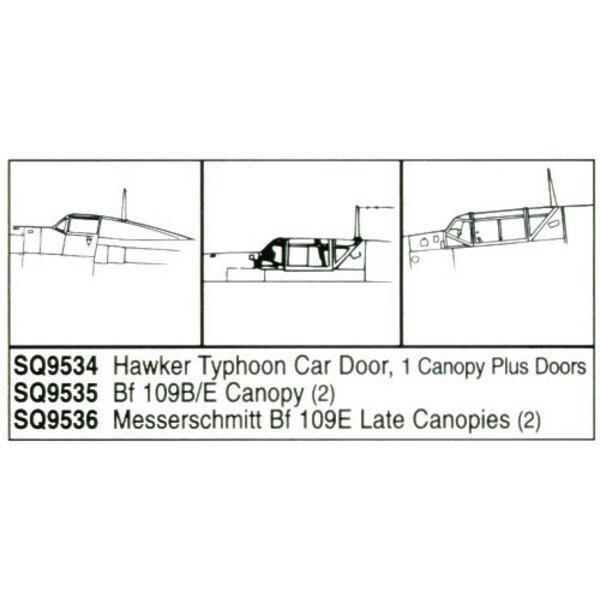 Hawker Typhoon Car Door Type