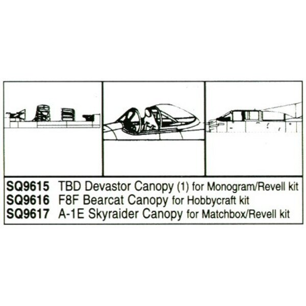 Douglas TBD Devastator (designed to be assembled with model kits from Monogram and Revell)