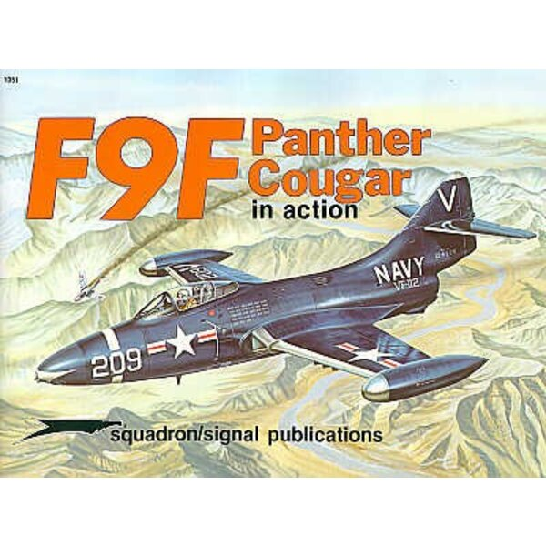 Grumman F9F Panther and Cougar (In Action Series)