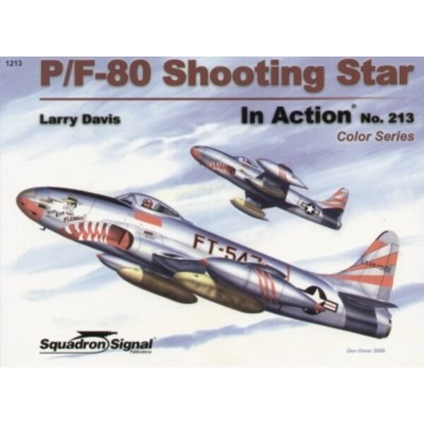 Lockheed P-80 Shooting Star COLOUR (In Action Series)