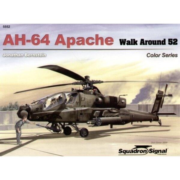 Book Boeing AH-64 Apache COLOUR (Walk Around Series)
