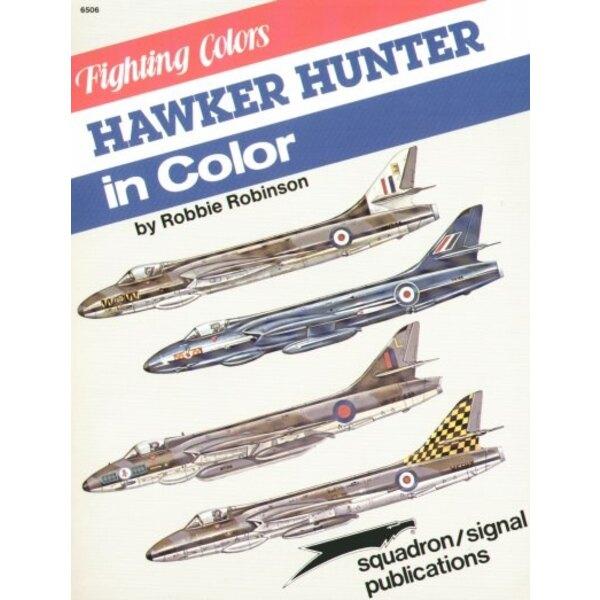 Hawker Hunter In Color