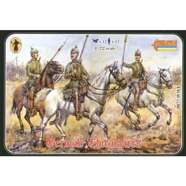 WWI German Cuirassiers
