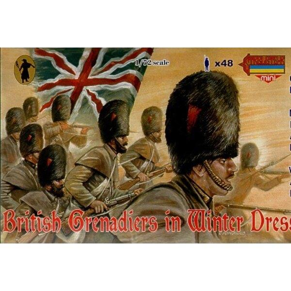 British Grenadiers in Winter Dress