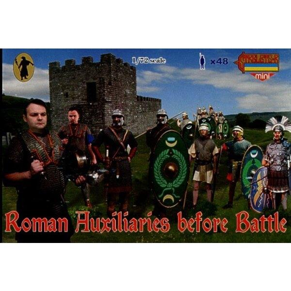 Roman Auxiliaries Before Battle